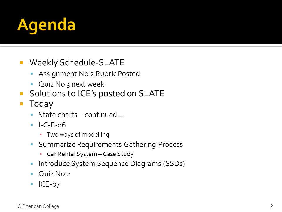 State diagrams system sequence diagrams ssds ppt video 2 agenda ccuart Image collections