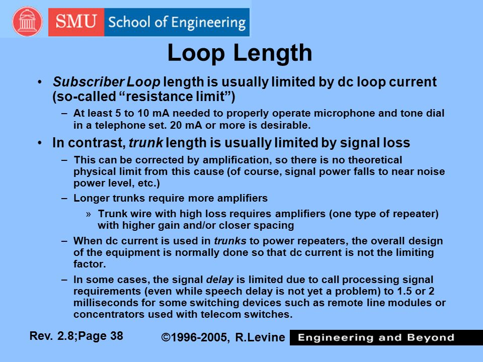 subscriber loop design Direct current signaling systems tip and ring and allowing loop current to flow all subscriber loops that terminate circuit design is essential.