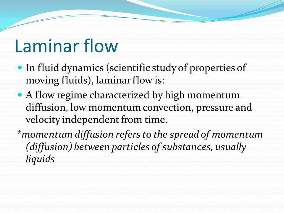 Laminar flow, turbulent flow and Reynold u2019s number ppt download