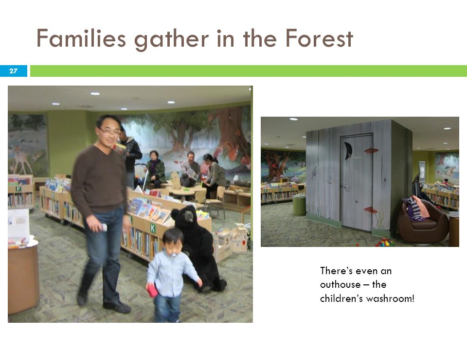 Families gather in the Forest