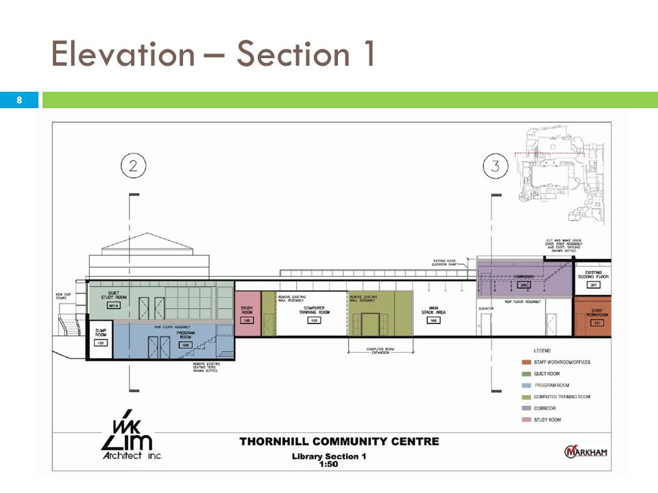 Elevation – Section 1