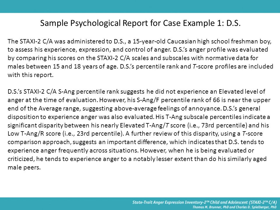 psychological report writing template download