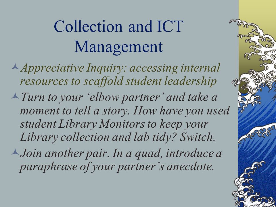 Collection and ICT Management
