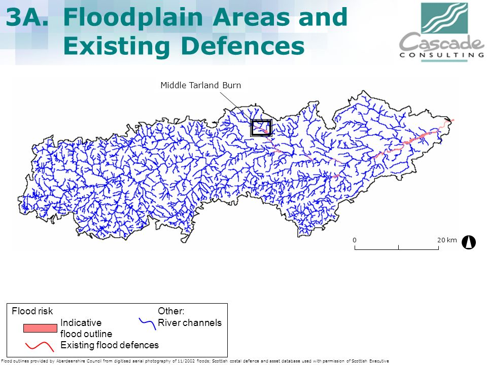 3A. Floodplain Areas and Existing Defences