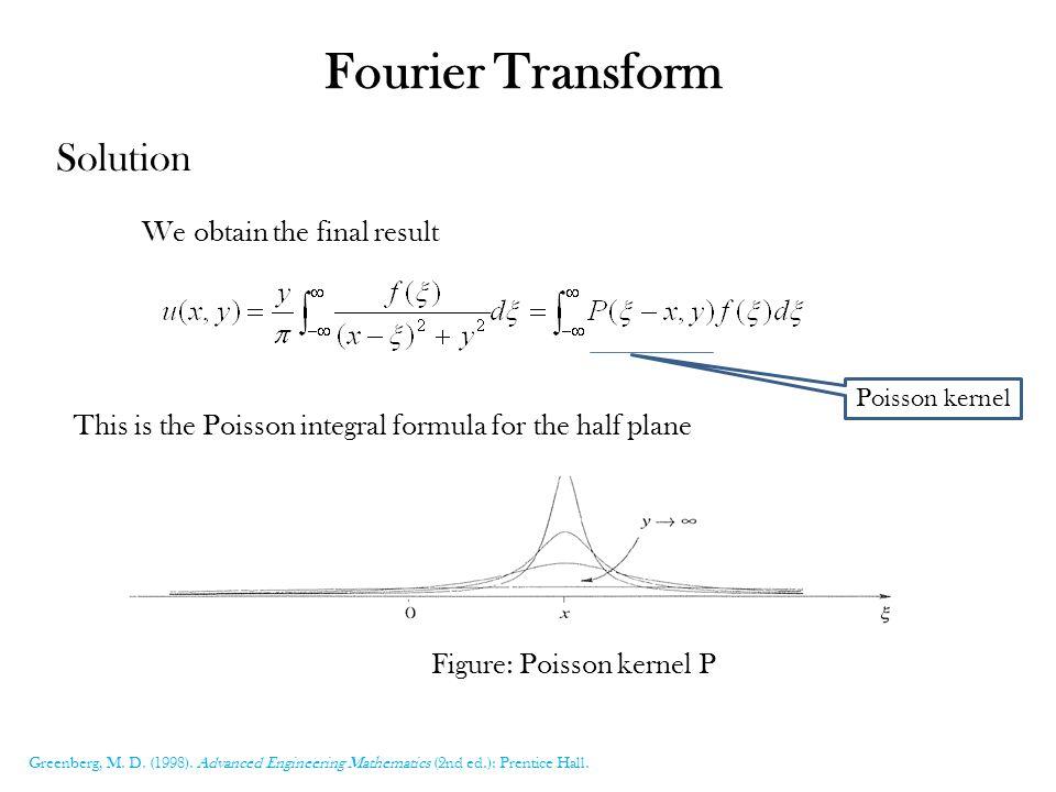 Fourier Transform Of Poisson Equation  Gate 2012