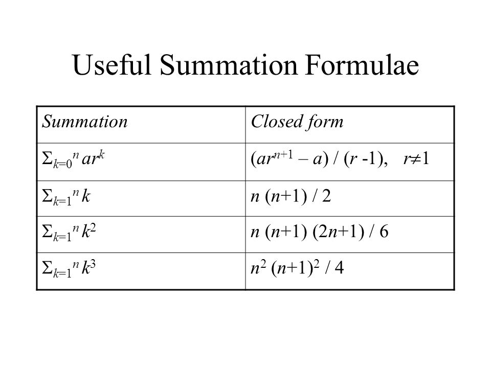 Sequences and Summations - ppt video online download