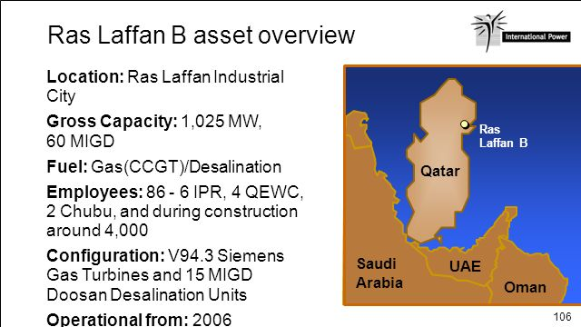 Ras Laffan B asset overview