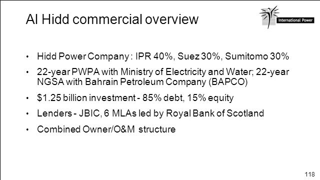 Al Hidd commercial overview