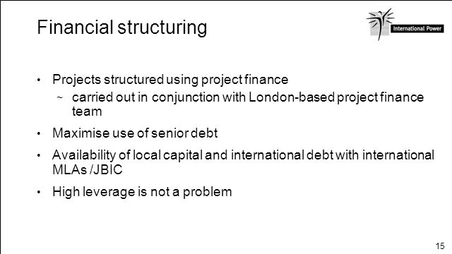 Financial structuring
