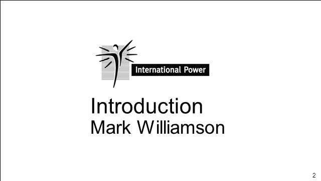 Introduction Mark Williamson INTRODUCTION Page 1