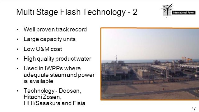Multi Stage Flash Technology - 2