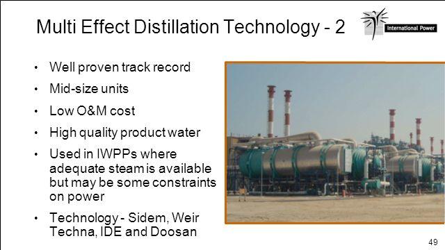 Multi Effect Distillation Technology - 2