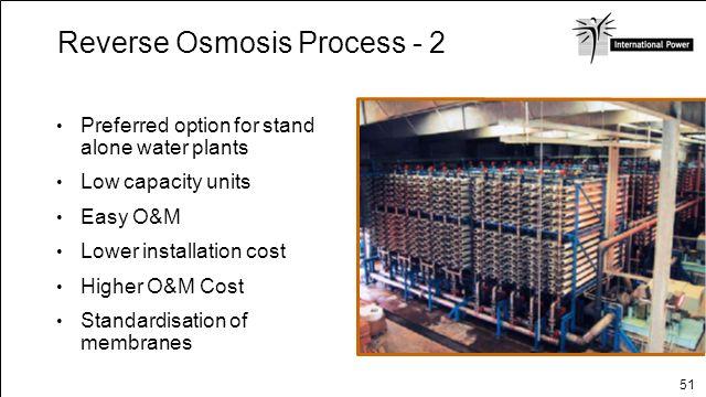 Reverse Osmosis Process - 2