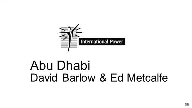 Abu Dhabi David Barlow & Ed Metcalfe ABU DHABI Page 1