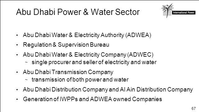 Abu Dhabi Power & Water Sector