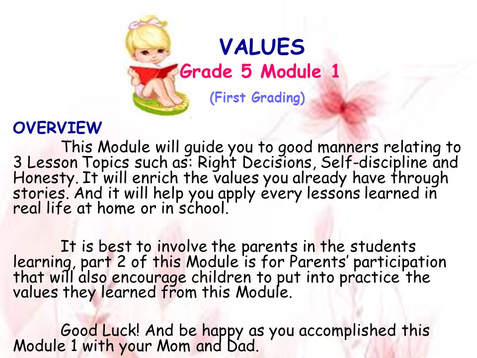 value of lessons essay