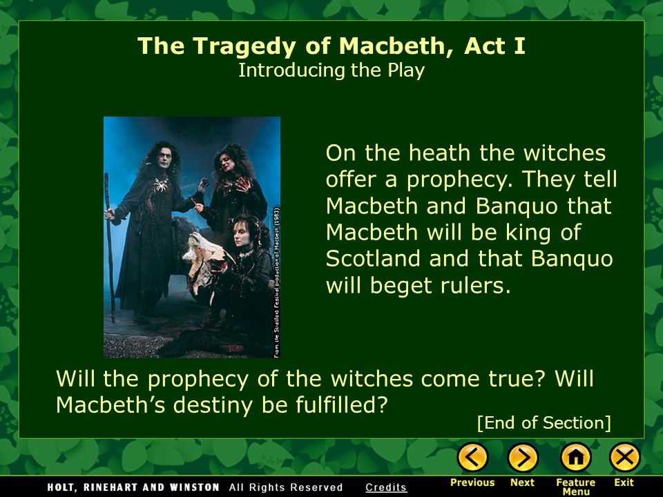the man of the battlefield in the tragedy of macbeth a play by william shakespeare In macbeth , william shakespeare's tragedy  an already great man  the end of the play macbeth's reputation on the battlefield is further .