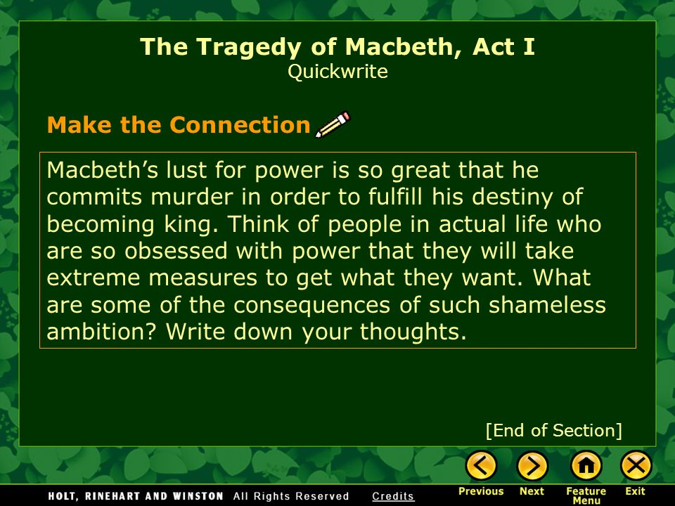 macbeth s destiny the tragedy of macbeth Destiny and free will - shakespeare asks the question of fate and free will through macbeth it's ambiguous whether macbeth has free will or his fate is predestined  all the prophecies in macbeth come true.