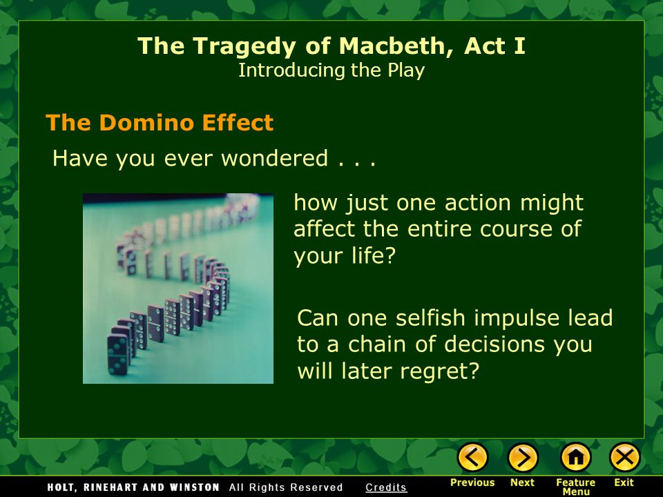 Tragedy In Macbeth