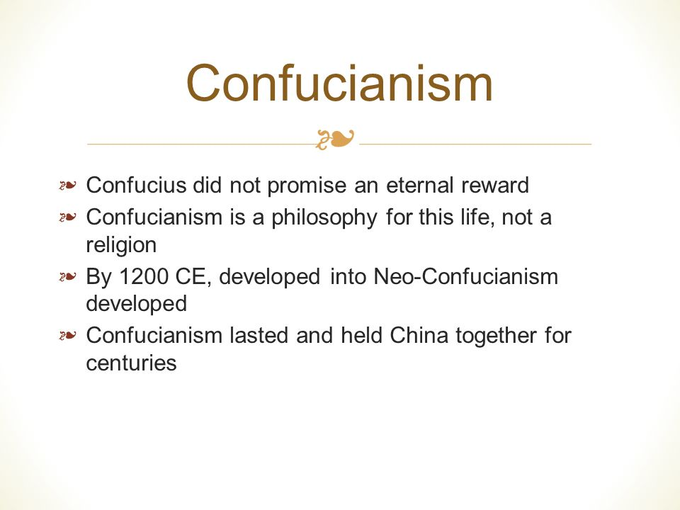 pre han classical chinese thought confucianism and daoism essay Conceptions of self/no‐self and modes of connection comparative soteriological structures in classical chinese thought  confucianism and taoism are introduced followed by a discussion on chinese characteristics and personality  classical confucianism, misc in asian philosophy confucius in asian philosophy.