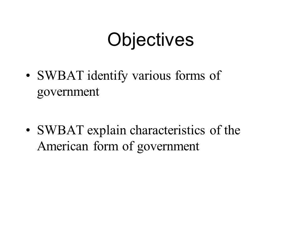 Types of governments ppt video online download for 6 characteristics of bureaucracy