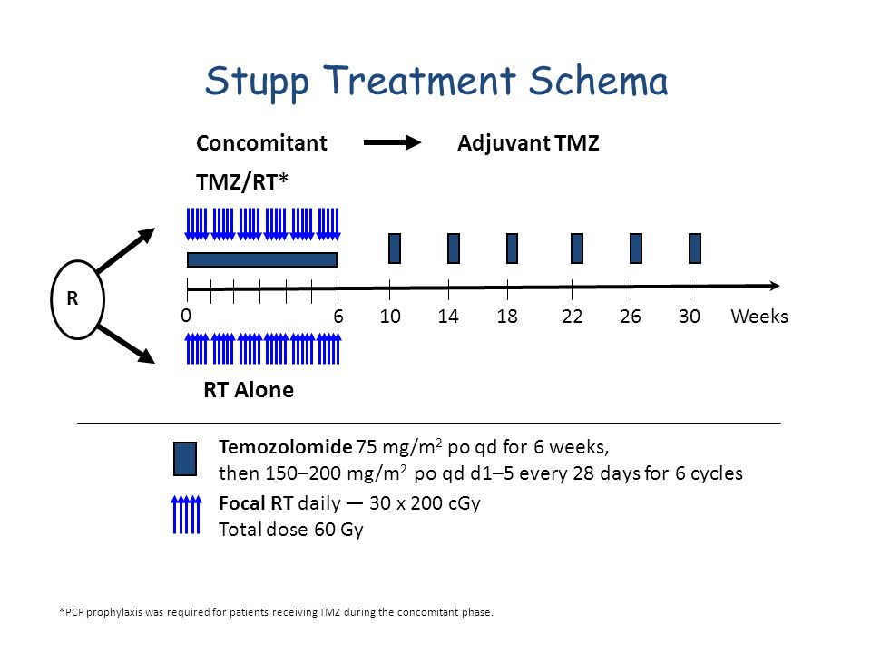 Stupp Treatment Schema