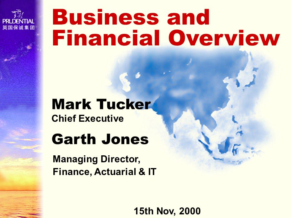 Business and Financial Overview