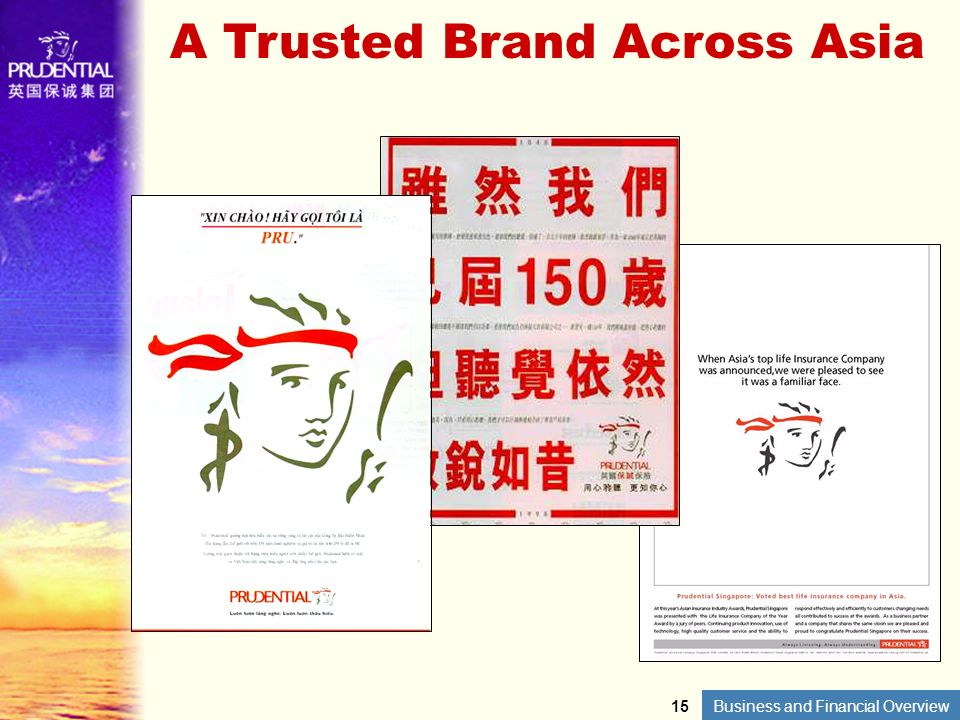 A Trusted Brand Across Asia