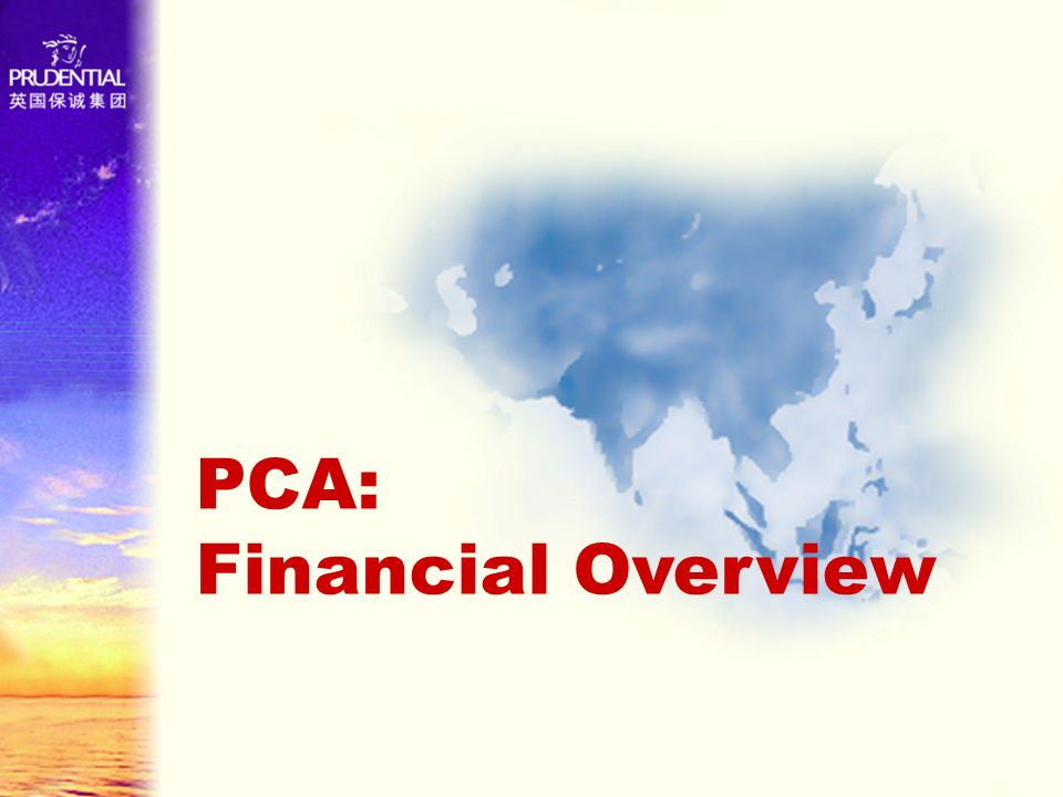 PCA: Financial Overview