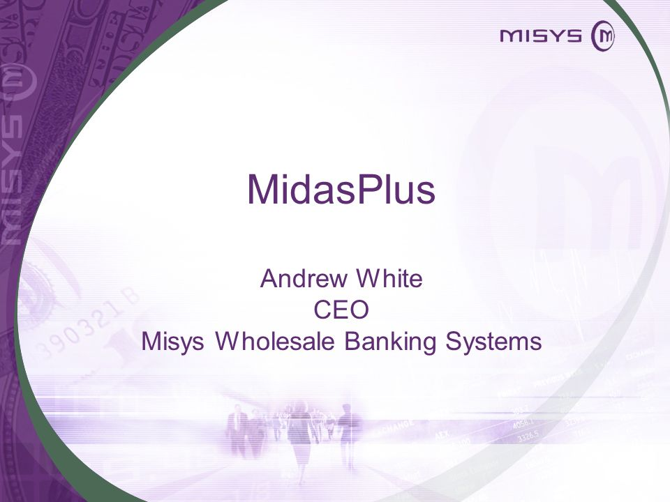 Misys Wholesale Banking Systems