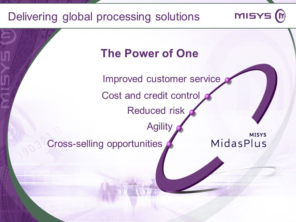 Delivering global processing solutions
