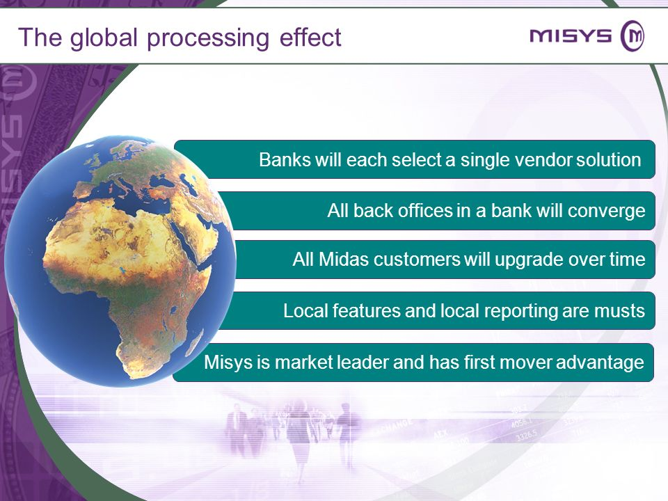 The global processing effect
