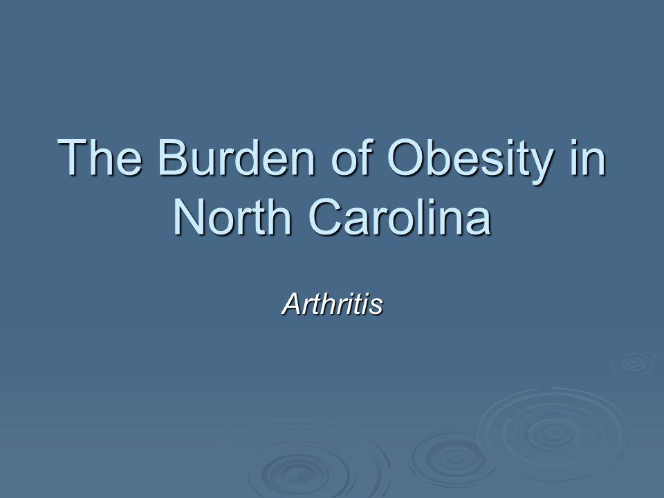 The Burden of Obesity in North Carolina