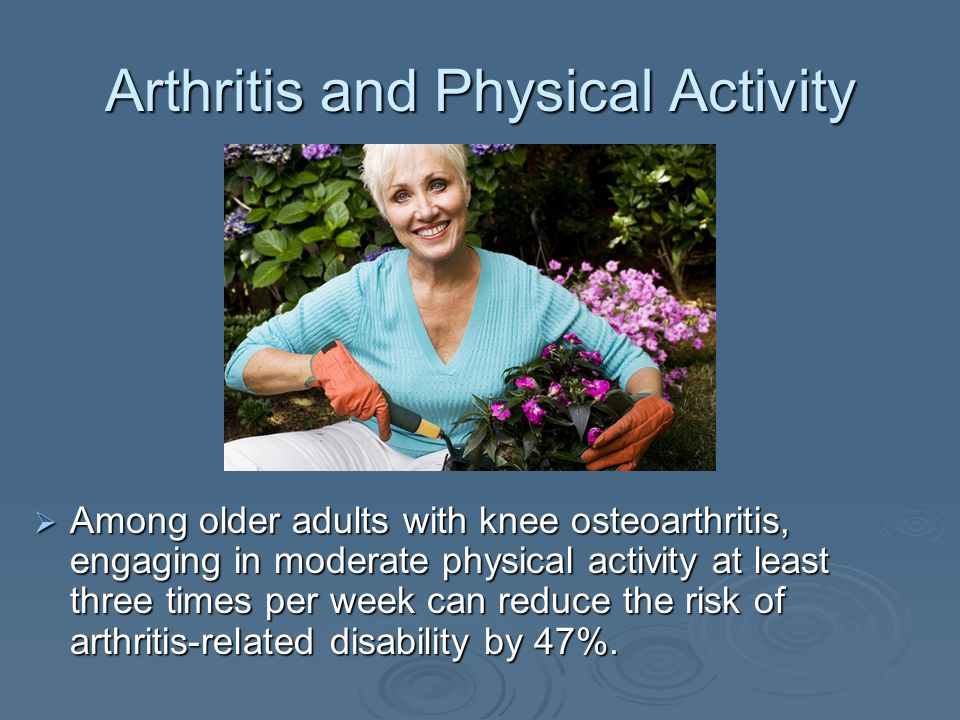 Arthritis and Physical Activity