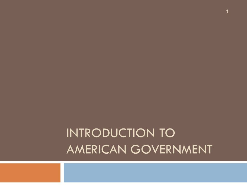 introduction to us government A very basic intro to the united states, for young children covers such topics as the branches of government, a few states, a few big cities, regions (eg.