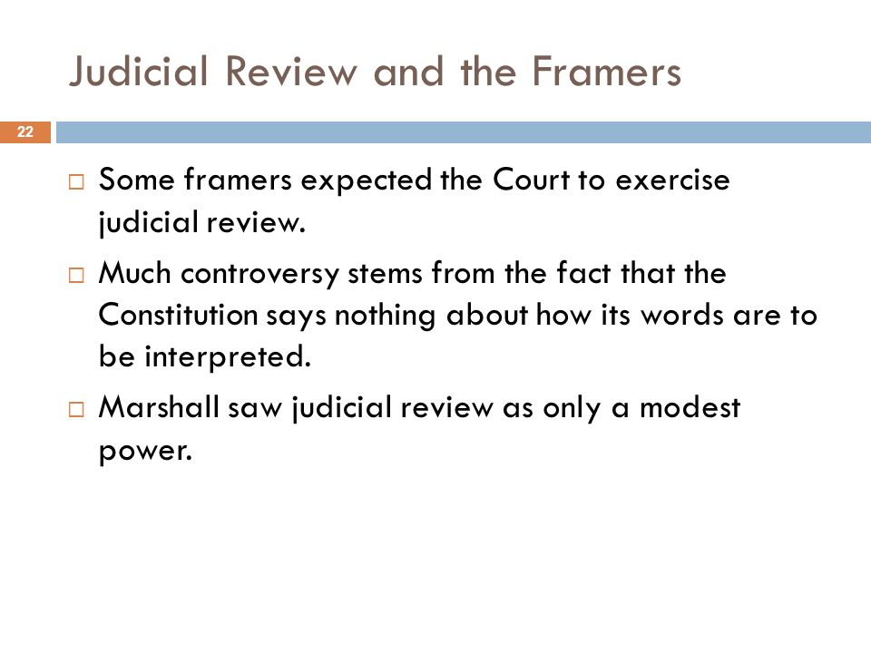 a brief introduction on judicial review Find out how to initiate judicial review introduction the high court has a you may want to contact a solicitor who will in turn brief a barrister to draft.