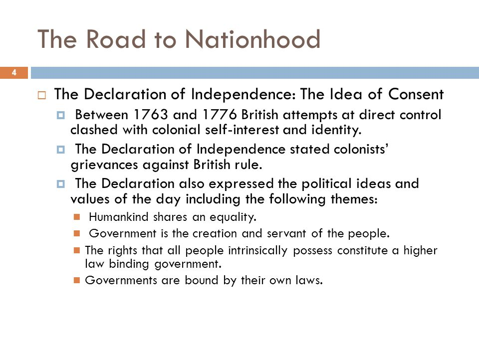 the laws and rules in the declaration of independence On the 28thhe has refused to pass other laws for the ac of june, the committee appointed to prepare a declaration of independence brought in a draught, which was read, and ordered.