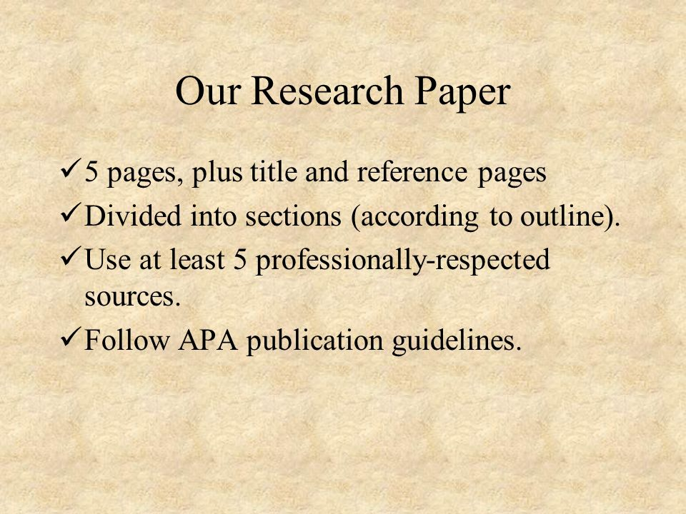 titles of research paper The research paper there will come a time in most students' careers when they are assigned a research paper such an assignment often creates a great deal of unneeded anxiety in the student, which may result in procrastination and a feeling of.