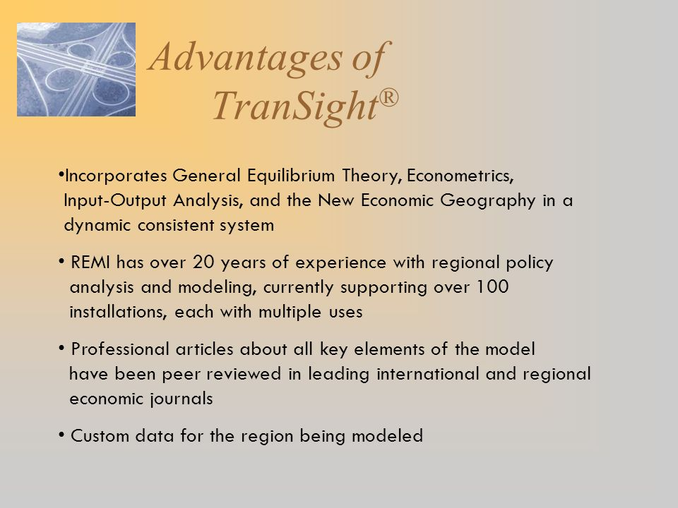 Advantages of TranSight®
