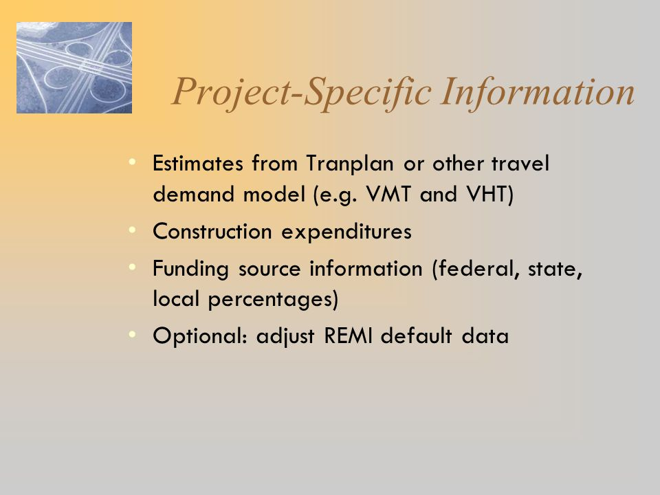 Project-Specific Information