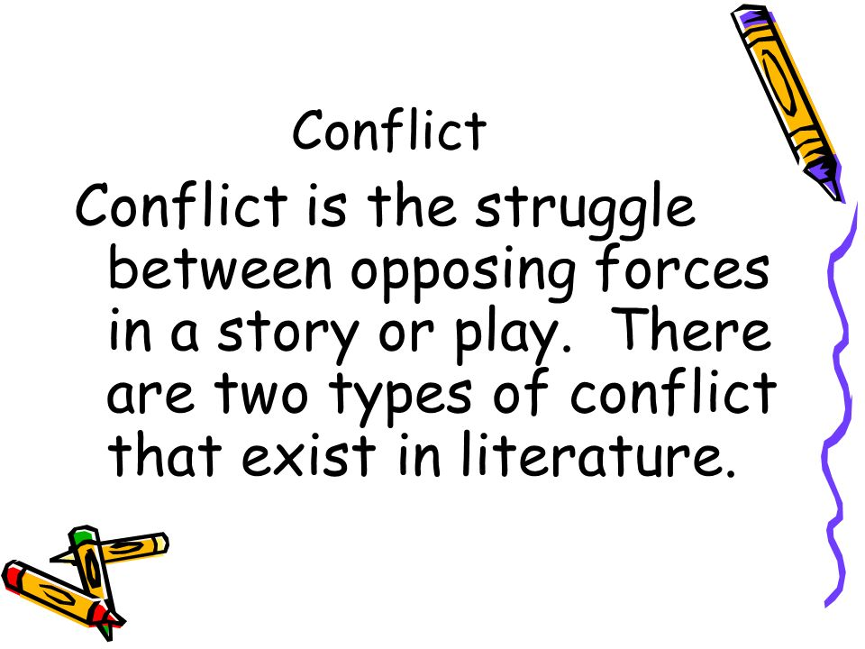 Conflict of a story