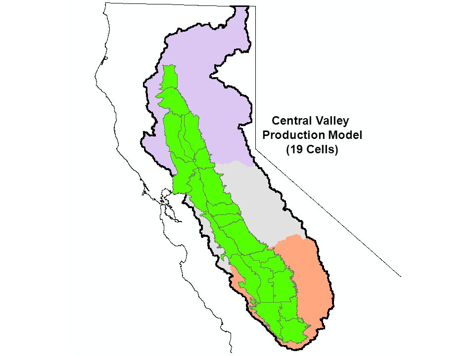 Central Valley Production Model (19 Cells)