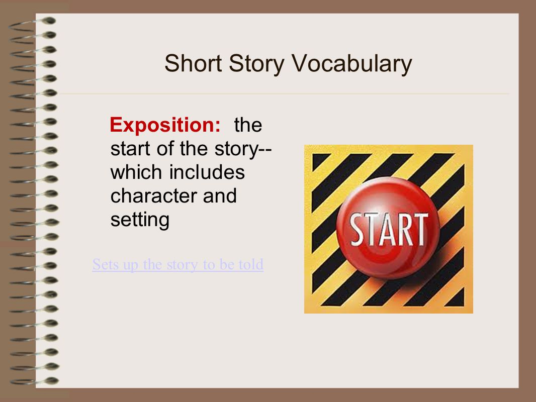 how to write a short story with only one character