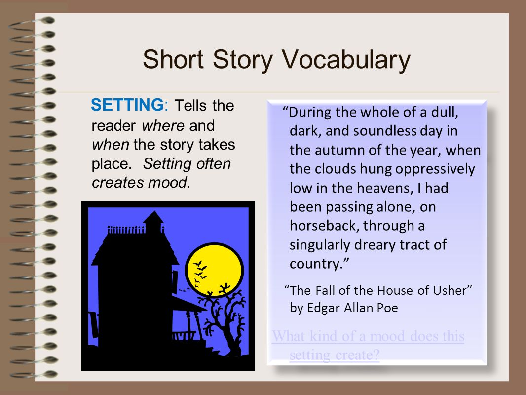 grade 9 short story vocabulary Spelling and vocabulary, grades 9-12  students in grades 9-12 read and then rewrite a de maupassant short story, updating its vocabulary and setting to that of.