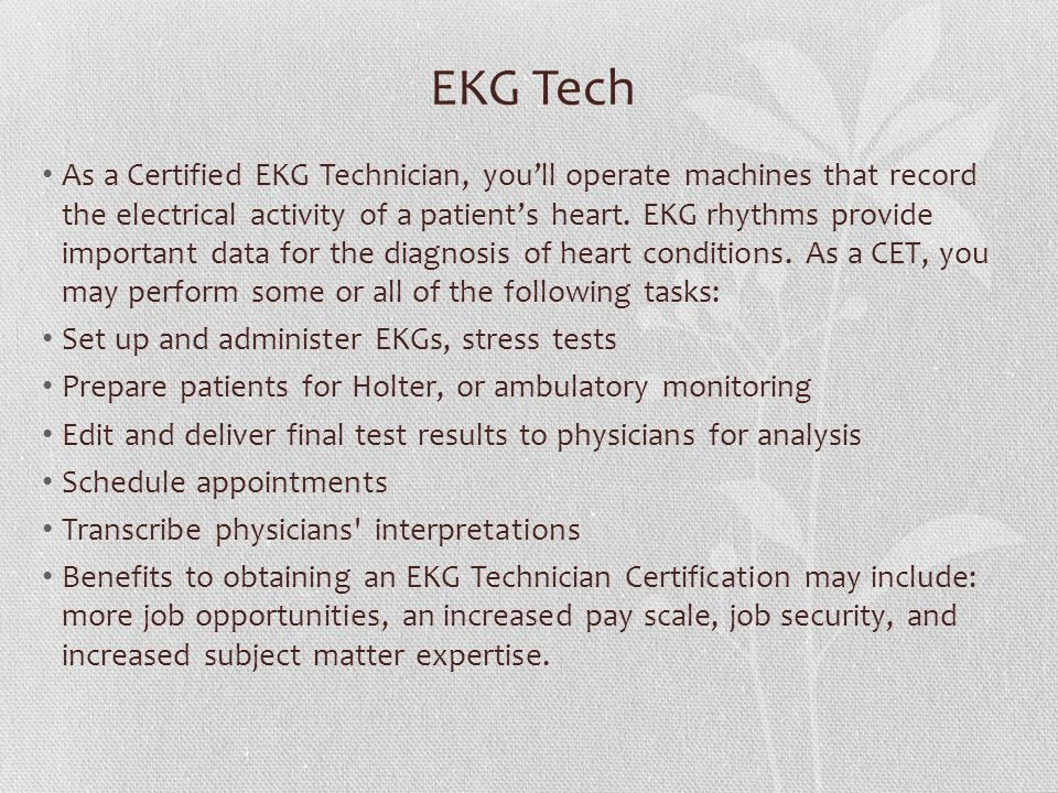 Ekg Certification Resume i ve been perfecting rsums for 15