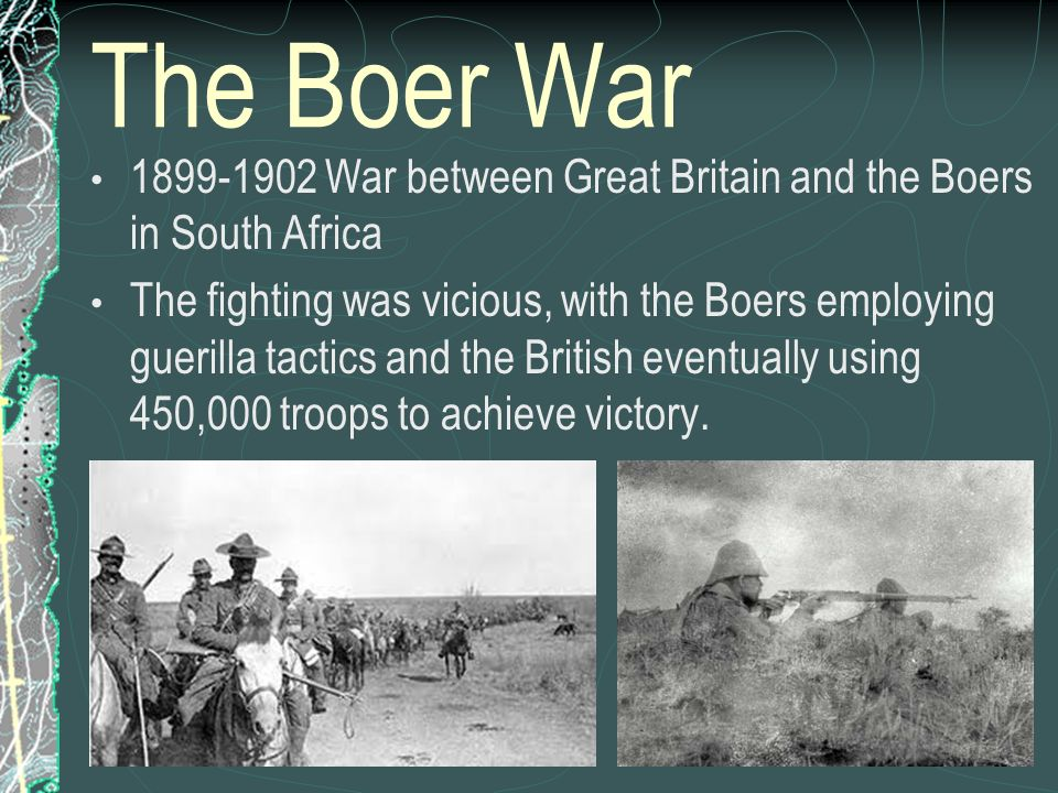 The conflict between great britain and