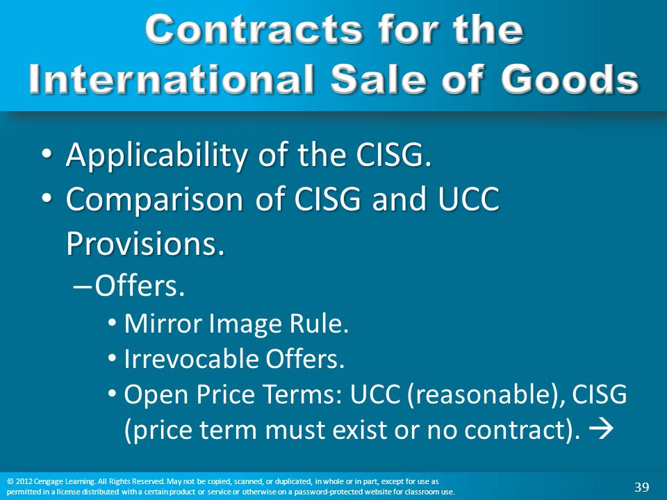 contract for the international sale of Module description international trade is one of the main forms of international economic relationships what is meant by international trade is the totality of contracts for the international sale of goods this means that an international sales contract, which is the subject of this course, is a key transaction lying at the very core.