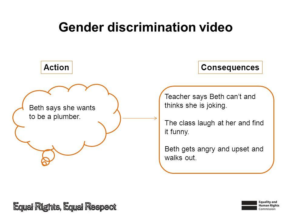 Gender discrimination video