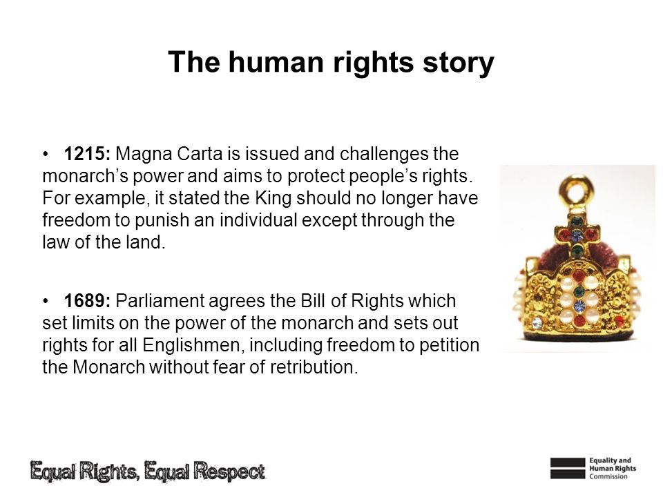 The human rights story