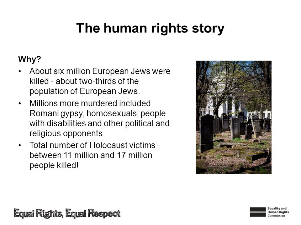 The human rights story Why